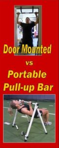 the best door mounted pullup bar, door mounted versus portable pullup bar
