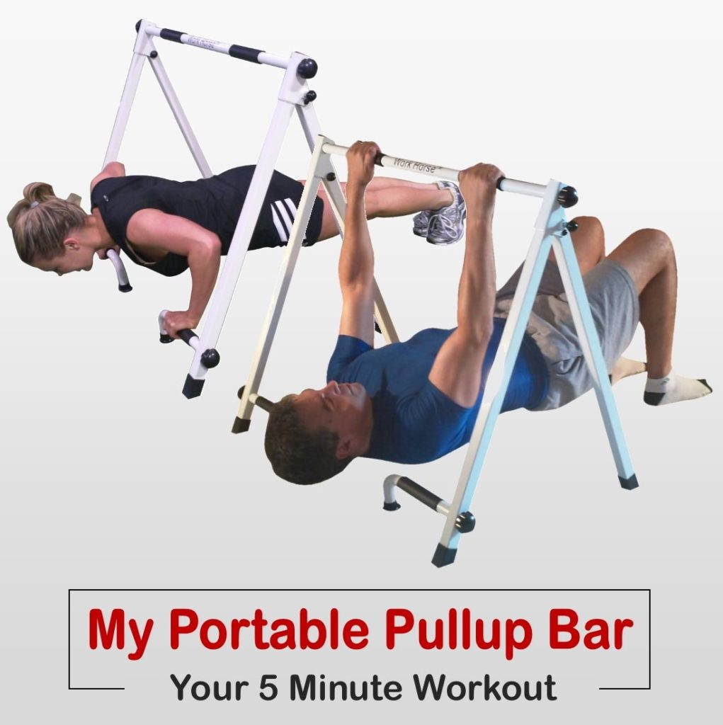 My push pull workout, best push pull workout, portable pullup bar,