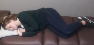whats the best position to sleep in